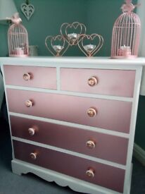 Beautiful Rose Gold Drawers