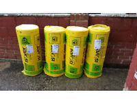 4 x isover 100mm party wall insulation