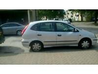 Nissan Almera Tino 1.8 Petrol Manual Cheap Car £475