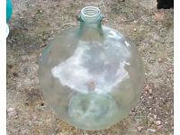 Large Vintage Glass Carboy