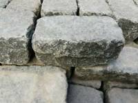 Granite cobbles setts