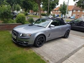 Audi a4 S line convertible only 117000miles