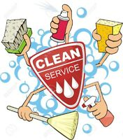 Cleaning lady available with an affordable rate and quote