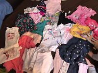 Mixed girls clothes 12-18m
