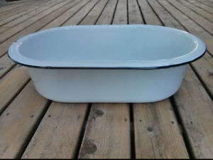 Enamelware Wash Tub