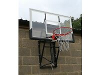 Bee-Ball ZY024 Basketball Backboard, adjustable height with Flex Ring