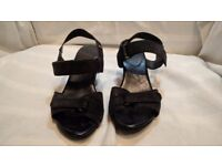 Black GEOX Womens Shoes Size 5