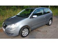 '06 VW Polo 1.2 S, 33k, FSH, 9months MOT, Met Silver, New Tyers.