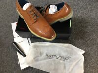 Brand New Pair of Justin Reece Brogues - Size 12