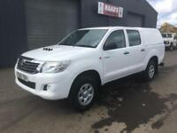 * SOLD * 2012 (62) Toyota Hilux 2.5 D4-D HL2 Double Cab 4x4 Diesel Pickup