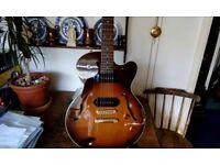 Yamaha AEX502 semi acoustic guitar