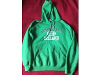 green hoodies for men size M