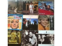 9 VINYL LP. ( MIXED. P& P £ 3.50 ONLY IN UK. ( USED.