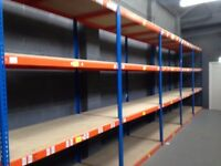 Rapid 1 industrial longspan shelving 7ft high ( pallet racking , storage )