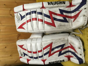 Goalie equipment for hockey