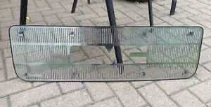 Stainless Grille Insert