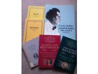 Scores - Bach, Beethoven, Brahms, Mahler, Mozart