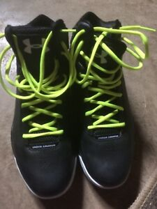 Under armour basketball shoes (USA 9.5)