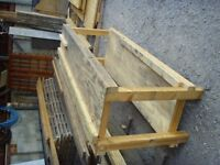 Work bench for sale 700mm wide x 2.4m length x 1.0m height