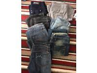 Job lot ladies jeans & combats & skirt