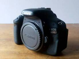 Canon 600d with extras