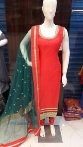 Indian Pakistani anarkali long dresses straight salwar kurta