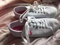 Ralph lauren sneakers womens size 5 1/2