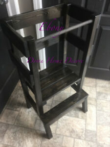 Custom Built Little Helper Stool