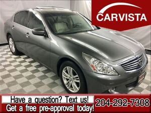 2010 Infiniti G37X Luxury AWD - LOCAL VEHICLE-