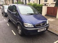 SPARES OR REPAIR Vauxhall zafira 1.8 78000 miles needs clutch £300 ono