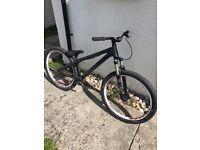 Dartmoor 26 player pump track/dj bike