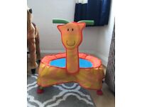 ELC giraffe trampoline £25 local delivery great condition
