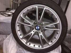 BMW 18 inch rims. Stock from Z4, 1/3/5 series.