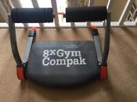 Compact workout equipment