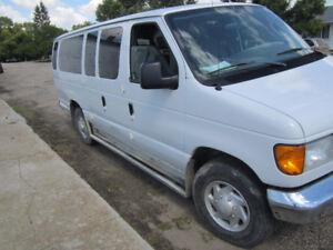 2006 Ford E-350 Cargo Extended Work Van