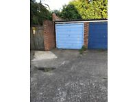 Garage for car parking or domestic storage 120 sq ft (15ft x 8ft)