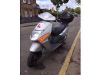 HONDA LEAD SCOOTER 102CC SILVER COLOUR FOR SALE IN VERY EXCELLENT CONDITION.LOW MILEAGE, HPI CLEAR