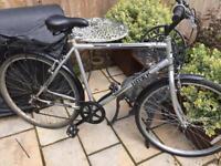 "Men's 22"" Hawk hybrid bike bicycle. Free delivery"