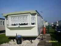 6 Berth 2 Bedroom Caravan for rent on coral beach leisure, ingoldmells.