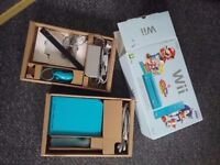 Wii console with all cables and packaging