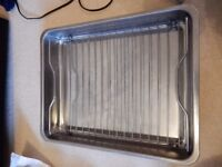 Roasting pan with grill STAINLESS STEEL