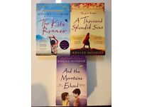 Khaled Hosseini: The Kite Runner/A Thousend Splended Suns/And The Mountains Echoed