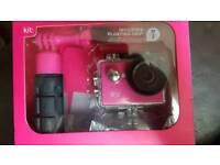 Activity cameras video pink waterproof