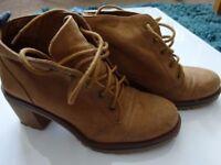 Bershka BSKGIRL Ankle Boot (brown)