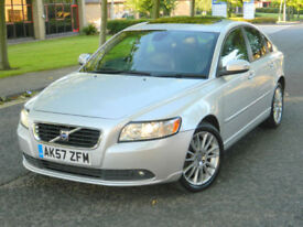 2007 57 VOLVO S40 2.4 D5 GEARTRONIC SE LUX WITH FULL LEATHER & SUNROOF