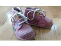 Kickers toddler boots