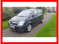 2010 Vauxhall Meriva 1.4 i 16v Active 5dr --- Manual --- Part Exchange Welcome --- Drives Good