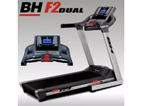 BH Fitness F2 Dual, Interactive Excellent Condition Less Than A Year old!