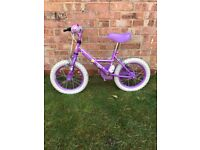 1 girls bicycle age 4-6 years colour pink £15 1 girls bicycle 6-8 years £25