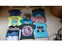 Boys summer t-shirts 5-6years